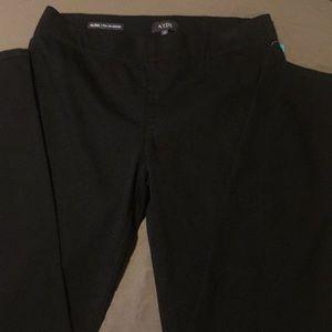 NYDJ black leggings size 10